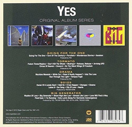 Berühmt Yes - Original Album Series - Amazon.com Music OQ75