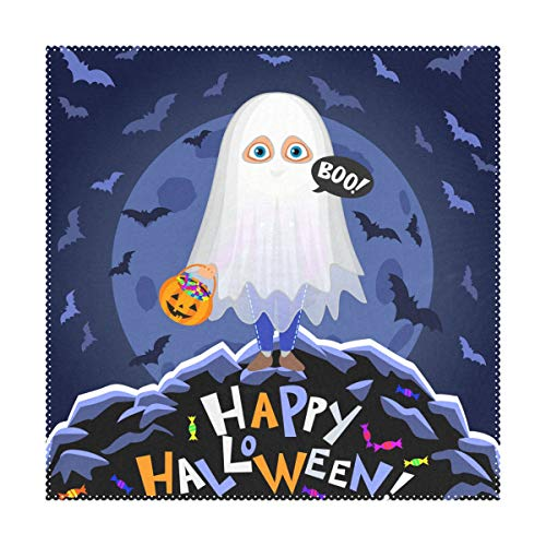 My Little Nest Square Placemats Happy Halloween Boy
