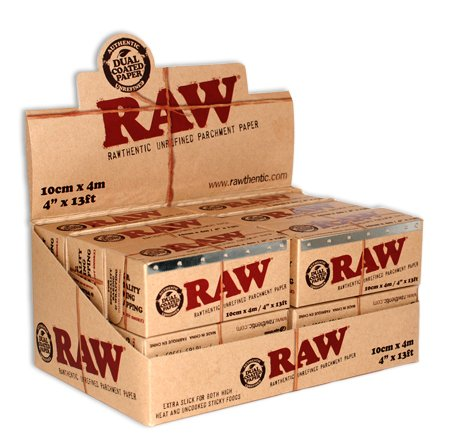 RAW Unrefined Parchment Paper Roll (12 roll display box, 100mm size) by RAW (Image #9)