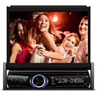 XO Vision X357 7-Inch In-Dash Touch Screen DVD Receiver with Bluetooth