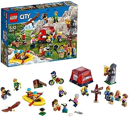 LEGO City Town - Pack de Minifiguras: Aventuras al Aire Libre ...