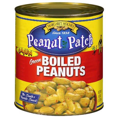 Margaret Holmes Green Cajun Boiled Peanuts - 6lb - CASE PACK OF 4