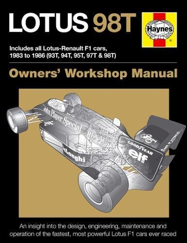 Lotus 98T Owners Workshop Manual Stephen Slater