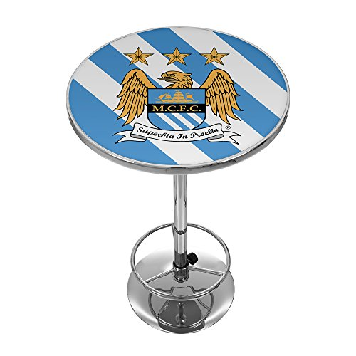 Trademark Gameroom Premier League Manchester City Chrome Pub ()