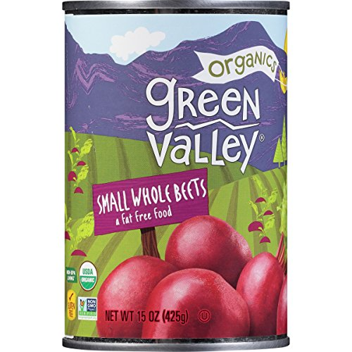 Green Valley Organics Small Whole Organic Beets, 15 Ounce (Pack of - Vegetables Canned Seneca