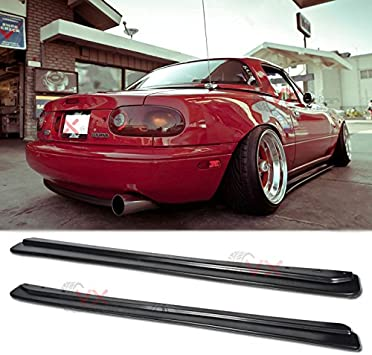 Mazda Miata Jdm >> Vxmotor Fd Style Side Skirts Body Kit Na Mx 5 Jdm Rockers Splitter For 1990 1997 Mazda Miata