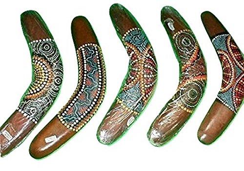 (Emerald City Imports Boomerang Aboriginal Made in Bali 12