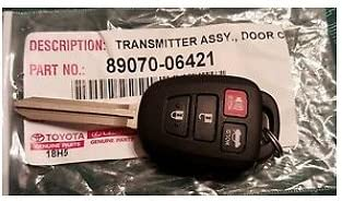 Toyota 89070-06421 Door Control Transmitter Assembly