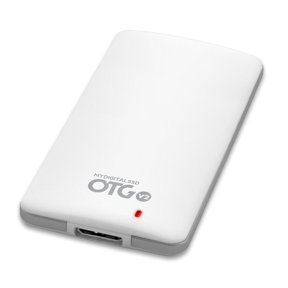 MyDigitalSSD 480GB (512GB) OTG V2 SuperSpeed USB 3.1 Gen 1 Portable SSD with UASP Support - MDMS-OTG-512