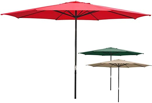 Patio Outdoor Umbrella Protective Canopy Cover Bag fit 6/' 8/' 9/' 10/' 13ft Market