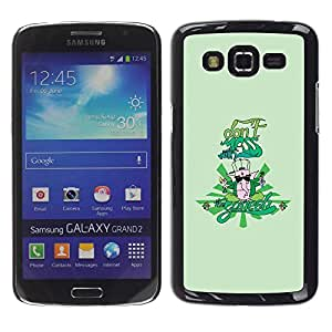 Paccase / SLIM PC / Aliminium Casa Carcasa Funda Case Cover para - Green - Samsung Galaxy Grand 2 SM-G7102 SM-G7105