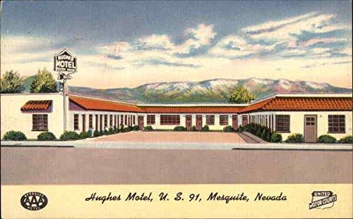 Hughes Motel - US 91 Mesquite, Nevada Original Vintage - Mesquite Us