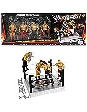 Webby Flex Force WWE Set of 4 Wrestling Action Figures Models Toy for Kids