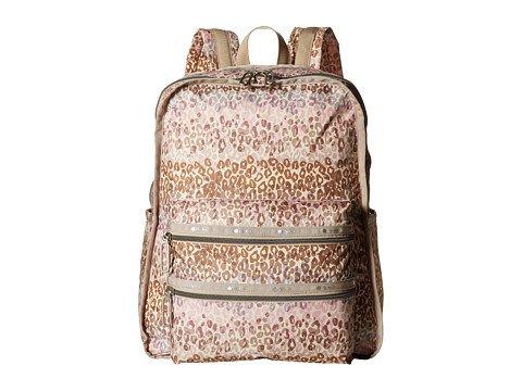(レスポートサック) LeSportsac レディースファッションバッグパックリュック Functional Backpack [並行輸入品] B06XFWG254 One Size (OS)|Cheetah Cascade Cheetah Cascade One Size (OS)