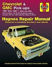 Chevy & GMC 4 3L & V* Pick-ups (67-87) & Suburban, Blazer & Jimmy (67-91) Haynes Repair Manual