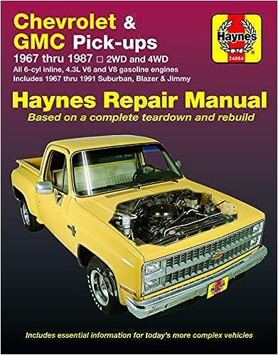 [DIAGRAM_1CA]  Chevrolet & GMC Pickup '67'87: Haynes: 9781850107644: Amazon.com: Books | Free Auto Wiring Diagram 19671972 Chevrolet Truck V8 Engine |  | Amazon.com