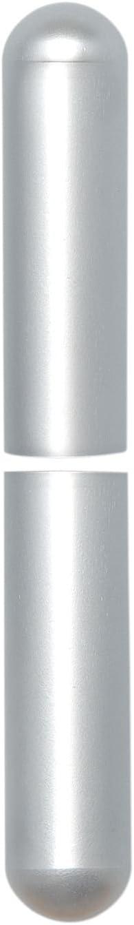 Aluminium vernickelt matt Bandhöhe 92 mm Aufsteckhülsen 3- DIM Band ø 15 mm