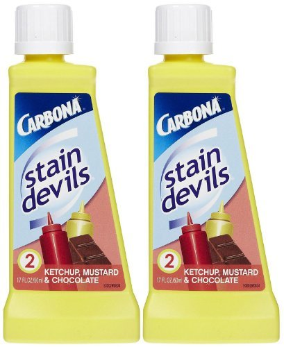 Carbona Stain Devils #2 Ketchup, Mustard & Chocolate - 1.7 oz - 2 pk