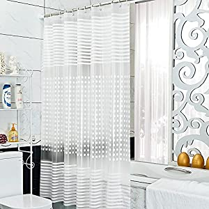 Amazon Riverbyland Shower Curtains Frosted 72 X 80
