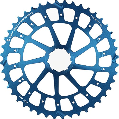 Wolf Tooth Components Giant Cog for SRAM XX1/X01 Blue, 46t by Wolf Tooth Components