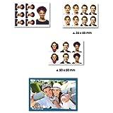 HiTi 4x6'' Photo Print Pack for P310W Printer, 60 Pack, Carton of 12 (Total 720 Prints)