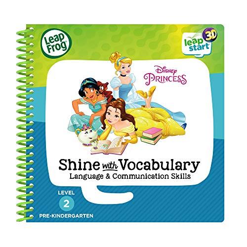 - LeapFrog Leapstart 3D Disney Princess Shine with Vocabulary Book
