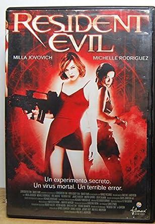 Resident Evil (2002) [DVD]: Amazon.es: Varios: Cine y Series TV