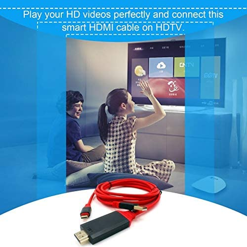USB 3.1 Type C Cable USB-C to 4K HDMI HDTV Adapter Cable Plug /& Play High Speed Converter For Samsung Galaxy S8 for Macbook