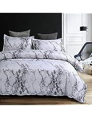 Simple Duvet Cover Set Bedding Set with Zipper