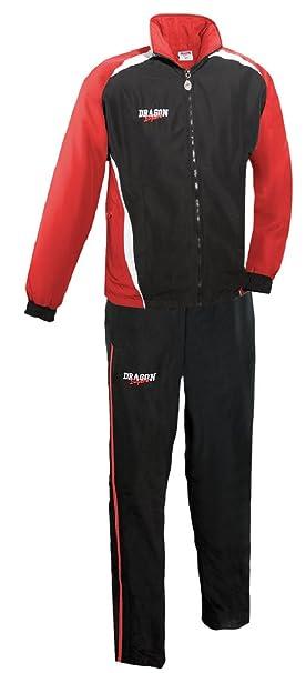 DragonSport – Chándal Chelsea, color rojo y negro, tamaño 116 ...