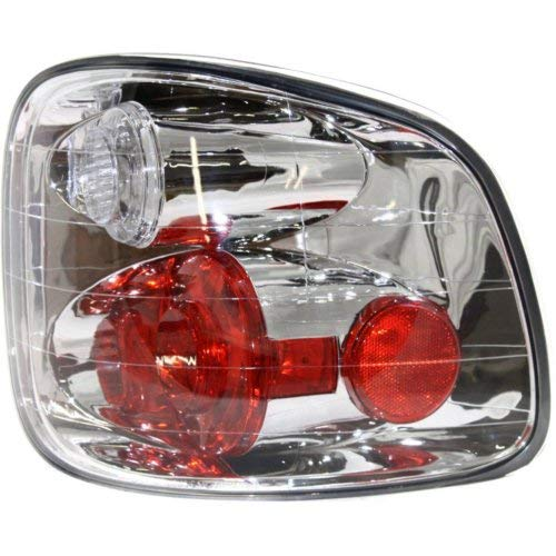 Garage-Pro Tail Light for FORD F-150 01-04 RH Lens and Housing Flareside Regular/Super Cab w/Lightning Model