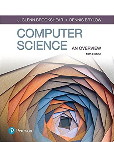 computer science an overview 11th edition answer key