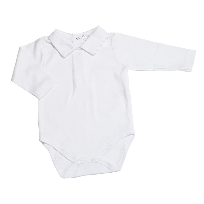 Amazon Kissy Kissy Baby boys Basic Collar Long Sleeve Bodysuit