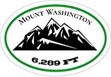 Mt Washington Bumper Sticker - New Hampshire White Mountains Decal - Great for Truck or Car Bumper Sticker - Perfect New Hampshire Mt Washington Gift, Made in the USA