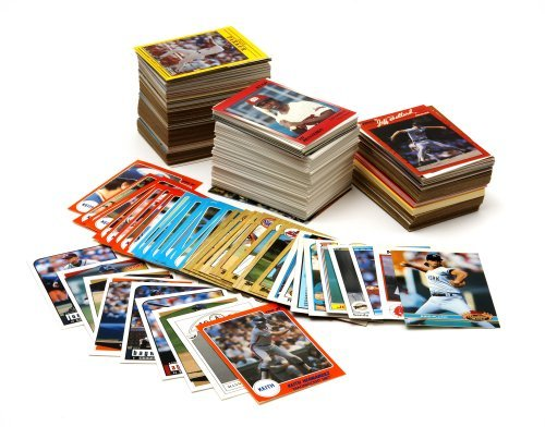 Old Vintage Baseball Card Collector Box With Over 500 Cards 1950's - 2000's with Mickey Mantle