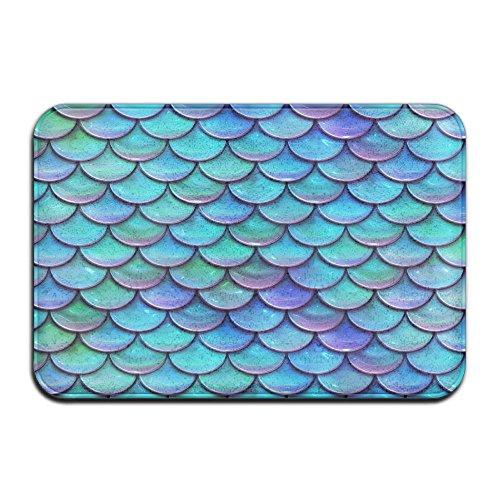 - Feimao Stacked Inlaid Fish Scales Anti Slip Doormat Absorbent Carpet Indoor And Outdoor Door Mat Entrance Rug Floor Mats Welcome Mat Living Room Rug