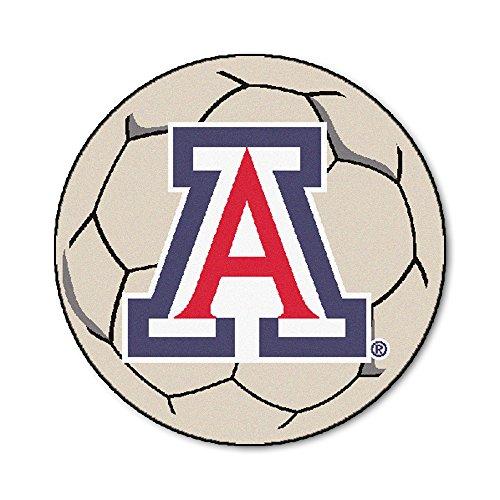 (FANMATS NCAA University of Arizona Wildcats Nylon Face Soccer Ball)