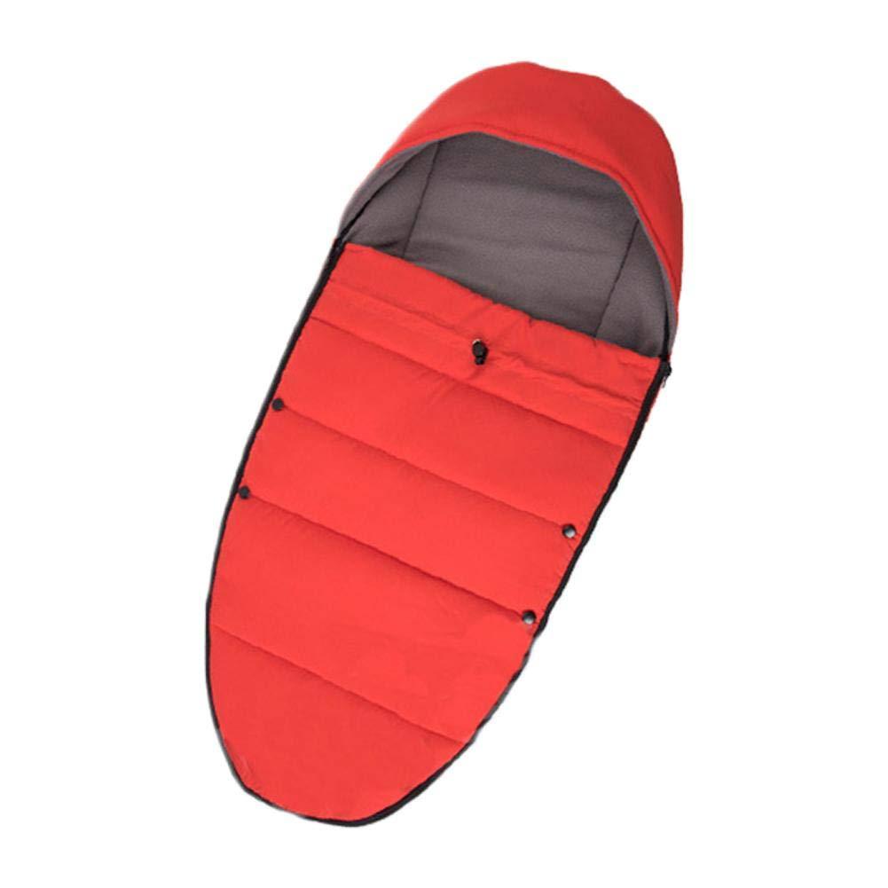 Winter Outdoor Tour Waterproof Baby Universal Stroller Sleeping Bag Warm Foot-muff Sack Anti-Kicking Multifunctional Sleeping Nest, Wearable Stroller Blanket DZSJ