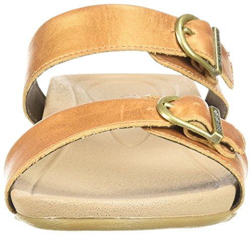 Eastland Kvinna Cape Ann Slide Sandal Tan