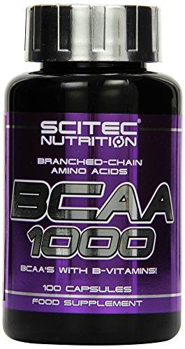 Scitec BCAA 1000 100 Kapseln, 1er Pack (1 x 100 g)