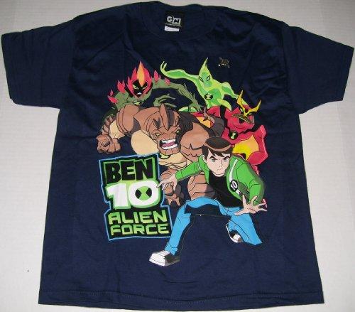 Ben 10 Ten Alien Force T-Shirt Youth XL 12