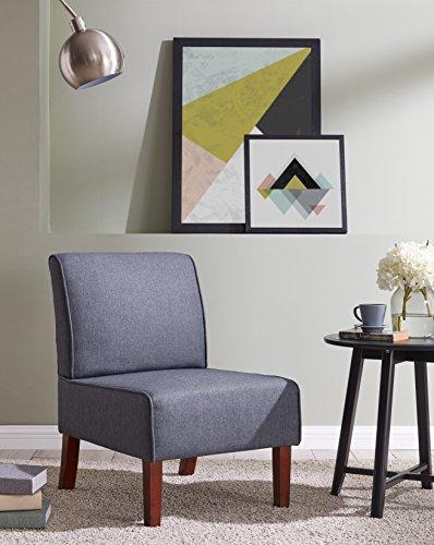 IDS Online MLM-18752-DG Single Sofa, Dark Grey