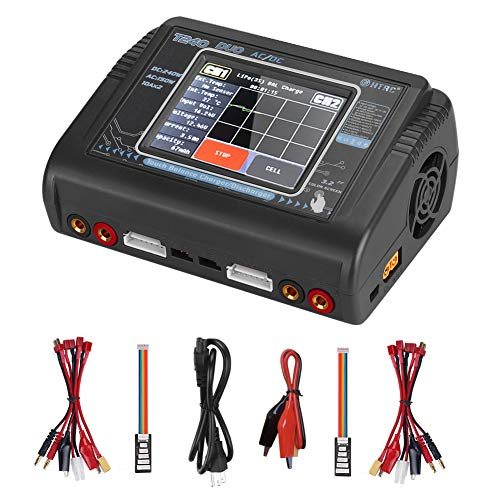 Lipo Battery Charger Touch Screen Dual Balance Discharger Duo AC150W DC240W 10A T240 1-6S RC Li-ion Life NiCd NiMH LiHV PB Smart Battery