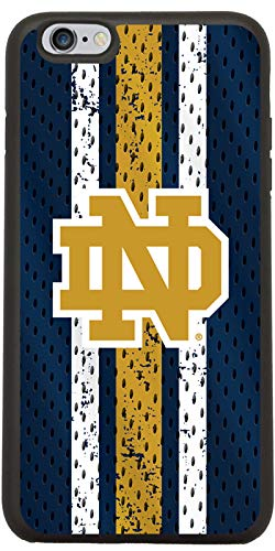 Notre Dame Jersey Design on Black iPhone