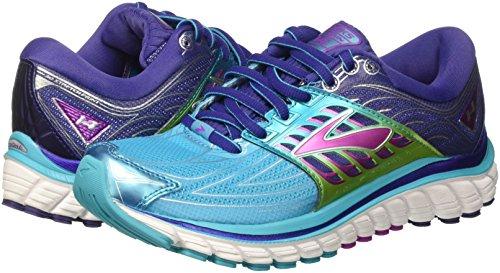 navyblue Turquoise Chaussures De purplecactusflower 14 Course Femme Brooks scubablue Glycerin H8Uwqn7