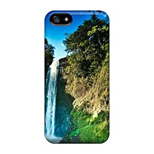 New Beautiful Pair Of Waterfalls Tpu Skin Case Compatible With Iphone 5/5s