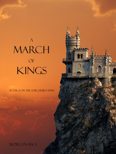 A March of Kings (Book #2 in the Sorcerer's Ring) cover