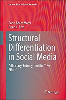 Structural Differentiation in Social Media: Adhocracy, Entropy, and the 1% Effect (Lecture Notes in Social Networks)