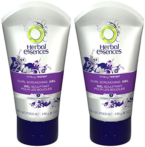 Herbal Essences Totally Twisted Curl Scrunching Gel, 6 oz, 2 pk