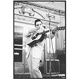 Johnny Cash 8x10 Photo Singer Black & White Ring of Fire